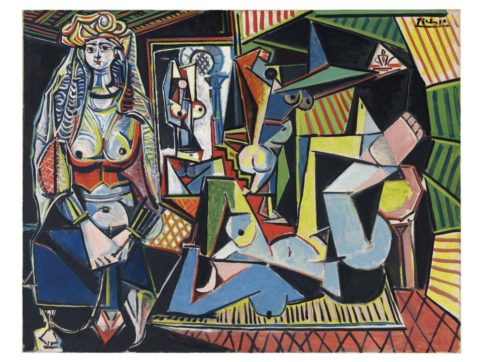 Painting of Picasso's Femmes-Dalger
