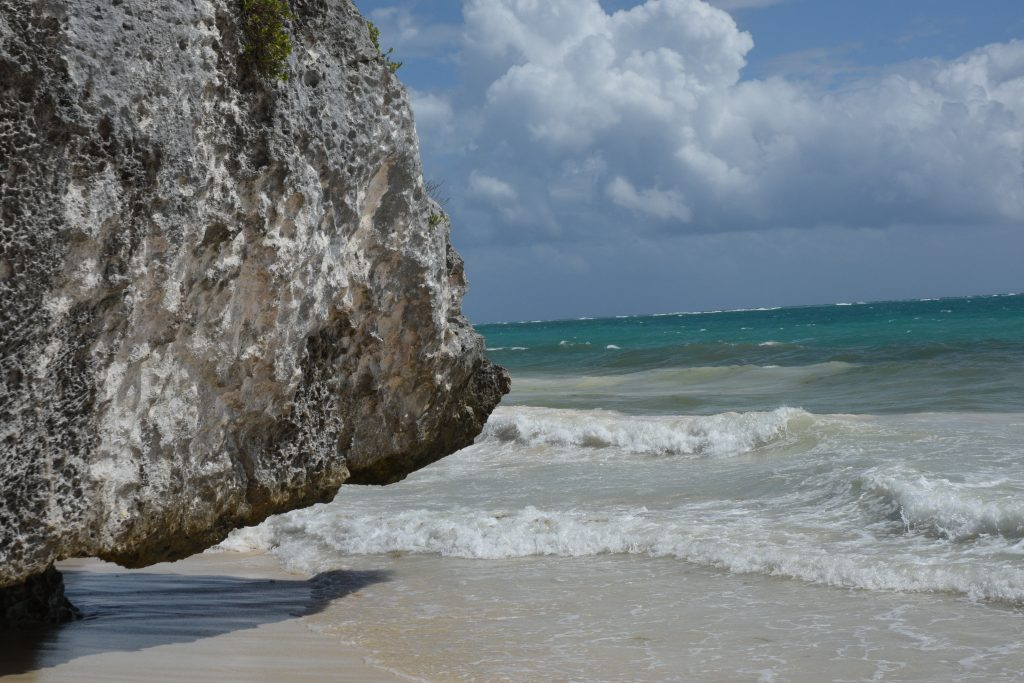 sand and surf images from tulum mexico on saturday soul blog